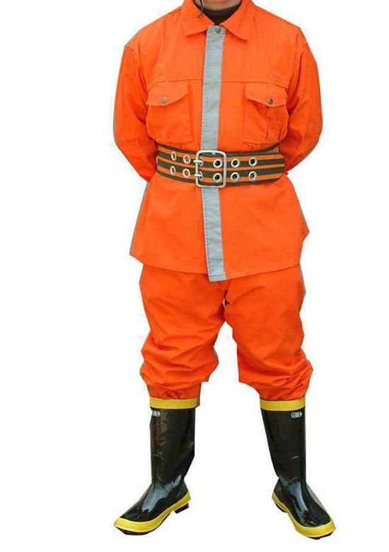 阻燃工作服装运用在阻燃消防行业